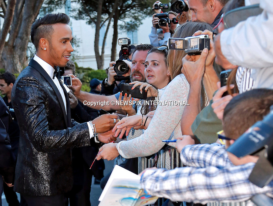 12.05.2015, Antibes; France: LEWIS HAMILITON<br /> attends the Cinema Against AIDS amfAR Gala 2015 held at the Hotel du Cap, Eden Roc in Cap d'Antibes.<br /> MANDATORY PHOTO CREDIT: &copy;NEWSPIX INTERNATIONAL<br /> <br /> (Failure to credit will incur a surcharge of 100% of reproduction fees)<br /> <br /> **ALL FEES PAYABLE TO: &quot;NEWSPIX  INTERNATIONAL&quot;**<br /> <br /> Newspix International, 31 Chinnery Hill, Bishop's Stortford, ENGLAND CM23 3PS<br /> Tel:+441279 324672<br /> Fax: +441279656877<br /> Mobile:  07775681153<br /> e-mail: info@newspixinternational.co.uk
