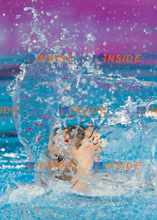 ROMASHINA Svetlana RUS RUSSIA gold medal<br /> London, Queen Elizabeth II Olympic Park Pool <br /> LEN 2016 European Aquatics Elite Championships <br /> Synchro<br /> Solo Technical final <br /> Day 04 12-05-2016<br /> Photo Giorgio Perottino/Deepbluemedia/Insidefoto