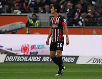 Makoto Hasebe (Eintracht Frankfurt) - 23.11.2019: Eintracht Frankfurt vs. VfL Wolfsburg, Commerzbank Arena, 12. Spieltag<br /> DISCLAIMER: DFL regulations prohibit any use of photographs as image sequences and/or quasi-video.