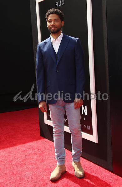 17 May 2017 - Hollywood, California - Jussie Smollett. Sir Ridley Scott Hand And Footprint Ceremony. Photo Credit: AdMedia