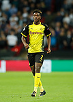 Dortmund's Dan-Axel Zagadou in action during the champions league match at Wembley Stadium, London. Picture date 13th September 2017. Picture credit should read: David Klein/Sportimage