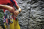 Rock Climbing ropes and equipment