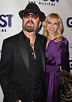 Dave Stewart & Guest.attending the Broadway Opening Night Performance of 'GHOST' a the Lunt-Fontanne Theater on 4/23/2012 in New York City. © Walter McBride/WM Photography .