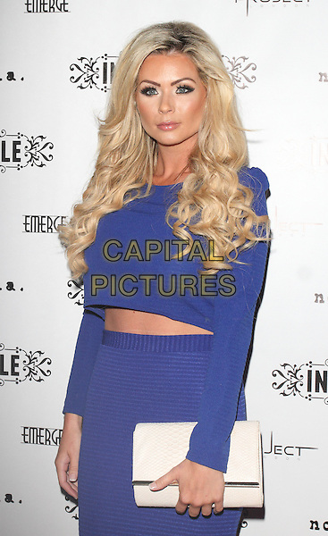 LONDON, ENGLAND - SEPTEMBER 04 Nicola McClean at the In The Style Party at Project Club, Wells Street, in London, on September 4, 2014 in London, England<br /> CAP/ROS<br /> &copy;Steve Ross/Capital Pictures