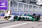 Lucas di Grassi of Brazil from Audi Sport ABT Schaeffler competes in the Formula E Non-Qualifying Practice 2 during the FIA Formula E Hong Kong E-Prix Round 1  at the Central Harbourfront Circuit on 02 December 2017 in Hong Kong, Hong Kong. Photo by Marcio Rodrigo Machado / Power Sport Images