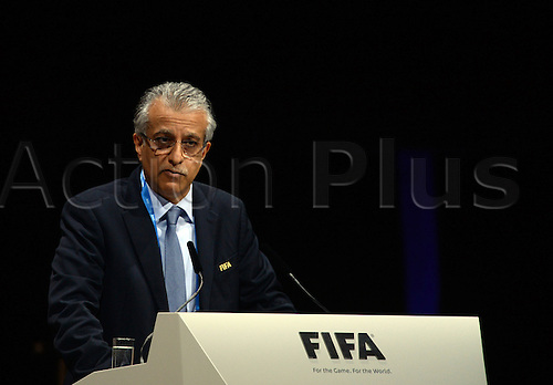Sheikh Salman Bin Ebrahim Al Khalifa of Bahrain, candidate for FIFA President, adresses the audience during the Extraordinary FIFA Congress 2016 at the Hallenstadion in Zurich, Switzerland, 26 February 2016. The Extraordinary FIFA Congress is being held in order to vote on the proposals for amendments to the FIFA Statutes and choose the new FIFA President.