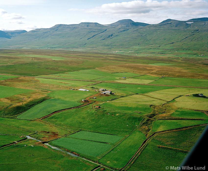 Stóra-Gröf syðri séð til suðvesturs, Staðarhreppur / Stora-Grof sydri viewing southwest, Stadarhreppur,