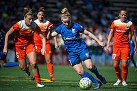 Seattle, Washington - Sunday, June 12, 2016: Seattle Reign FC midfielder Kim Little (8) during a regular season National Women's Soccer League (NWSL) match at Memorial Stadium. Seattle won 1-0.