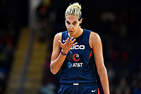 Washington, DC - Aug 8, 2019: Washington Mystics forward Elena Delle Donne (11) during 2nd half action of game between the Indiana Fever and the Washington Mystics. The Mystics defeat the Fever 91-78 at the Entertainment & Sports Arena in Washington, DC. (Photo by Phil Peters/Media Images International)