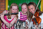 Taking part in the Flei Cheoil competitions in Lixnaw on Sunday were Suzanne Curtin, Brosna, Laura Dillon, and Melaine Murphy, Abbey feale...   Copyright Kerry's Eye 2008