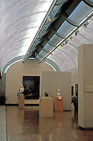 Louis I. Kahn: Kimbell Art Museum, Ft. Worth. Gallery.  Photo '96.
