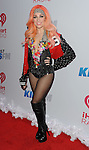 Bonnie McKee attends the '2013 KIISFM Jingle Ball', held at the Staple center Los Angeles, Ca. December 6, 2013