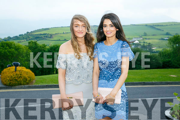At the Brookfield College Graduation in the Ballyroe Heights Hotel on Thursday were Noirin Maher and Sarah Lyne