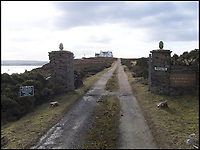 End of the Road - Property is the last stop in northern Britain.