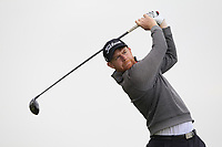Ruairi O'Connor (Co.Sligo) on the 2nd tee during Round 1 of The East of Ireland Amateur Open Championship in Co. Louth Golf Club, Baltray on Saturday 1st June 2019.<br /> <br /> Picture:  Thos Caffrey / www.golffile.ie<br /> <br /> All photos usage must carry mandatory copyright credit (© Golffile | Thos Caffrey)