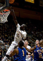 Bak Bak of California shoots the ball during the game against SJSU at Haas Pavilion in Berkeley, California on December 7th, 2011.   California defeated San Jose State, 81-62.