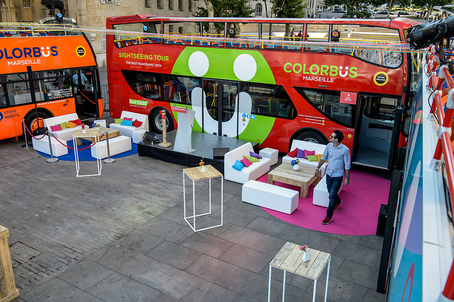 Lancement Colorbüs - 29 juin 2017 - Place Bargemon / hôtel de ville - Marseille