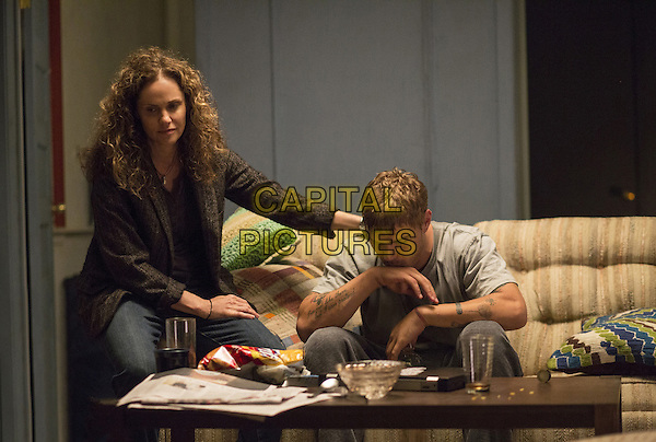 The Leftovers  (2014-)<br /> (Season2)<br /> Amy Brenneman, Chris Zylka<br /> *Filmstill - Editorial Use Only*<br /> CAP/FB<br /> Image supplied by Capital Pictures