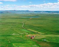 Stöng séð til norðausturs, Skútustaðahreppur / Stong viewing northeast, Skutustadahreppur.