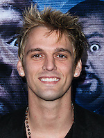 "LOS ANGELES, CA, USA - APRIL 16: Singer Aaron Carter arrives at the Los Angeles Premiere Of Open Road Films' ""A Haunted House 2"" held at Regal Cinemas L.A. Live on April 16, 2014 in Los Angeles, California, United States. (Photo by Xavier Collin/Celebrity Monitor)"