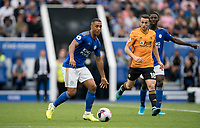 Youri Tielemans of Leicester City during the Premier League match between Leicester City and Wolverhampton Wanderers at the King Power Stadium, Leicester, England on 10 August 2019. Photo by Andy Rowland.