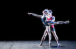 "English National Ballet. ""Celebration"". Thomas Edur and Agnes Oaks gala performance at Sadlers Wells in tribute to their carreer. ""2 Human"". Choreographer: Wayne McGregor."