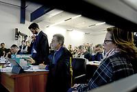 Roma, 24 Ottobre 2018<br /> Fabio Anselmo, Ilaria Cucchi, Giovanni Musarò.<br /> Processo Cucchi Bis contro 5 Carabinieri accusati della morte di Stefano Cucchi