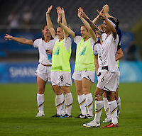 Natasha Kai. The USWNT defeated Canada in extra time, 2-1, during the 2008 Beijing Olympics in Shanghai, China.
