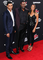 HOLLYWOOD, LOS ANGELES, CA, USA - AUGUST 19: Charles Haysbert, Dennis Haysbert, Katharine Haysbert at the Los Angeles Premiere Of Dimension Films' 'Sin City: A Dame To Kill For' held at the TCL Chinese Theatre on August 19, 2014 in Hollywood, Los Angeles, California, United States. (Photo by Xavier Collin/Celebrity Monitor)