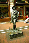 Ireland: Dublin, James Joyce Statue.  Photo: dublin102.Photo copyright Lee Foster, 510/549-2202, lee@fostertravel.com, www.fostertravel.com