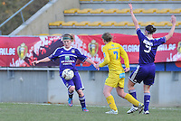Waasland Beveren Sinaai Girls - RSC Anderlecht : Laura Deloose.foto DAVID CATRY / Nikonpro.be