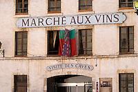 marche aux vins beaune cote de beaune burgundy france
