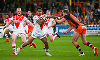 Picture by Alex Whitehead/SWpix.com - 12/05/2018 - Rugby League - Ladbrokes Challenge Cup - Castleford Tigers v St Helens - Mend-A-Hose Jungle, Castleford, England - St Helens' Ben Barba.
