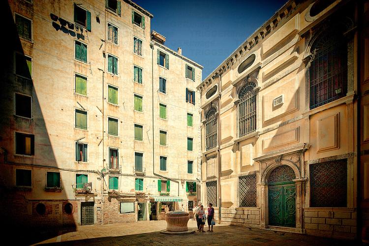 Campiello delle Scuole, Ghetto Vecchio, Venice, Italy