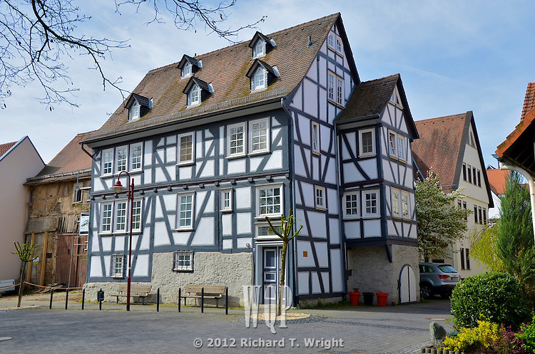 Butzbuch, Germany, a walled town - village scenes