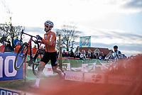 David Van der Poel (NED) <br /> <br /> Men's Elite race <br /> <br /> UCI 2019 Cyclocross World Championships<br /> Bogense / Denmark<br /> <br /> ©kramon