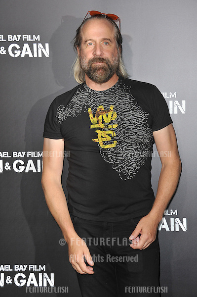 "Peter Stormare at the Los Angeles premiere of his movie ""Pain & Gain"" at the Chinese Theatre, Hollywood..April 22, 2013  Los Angeles, CA.Picture: Paul Smith / Featureflash"