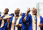 Leicester city choir singing before the Barclays Premier League match at the King Power Stadium Leicester. Photo credit should read: Nathan Stirk/Sportimage<br /> <br /> <br /> <br /> <br /> <br /> <br /> <br /> <br /> <br /> <br /> <br /> <br /> <br /> <br /> <br /> <br /> <br /> <br /> <br /> <br /> <br /> <br /> <br /> <br /> <br /> <br /> <br /> <br /> <br /> <br /> <br /> - Newcastle Utd vs Tottenham - St James' Park Stadium - Newcastle Upon Tyne - England - 19th April 2015 - Picture Phil Oldham/Sportimage