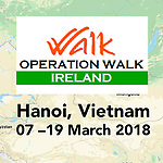 Operation Walk Ireland , Hanoi, Vietnam, 2018