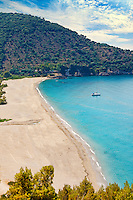 Karavostasi beach in Perdika, Greece