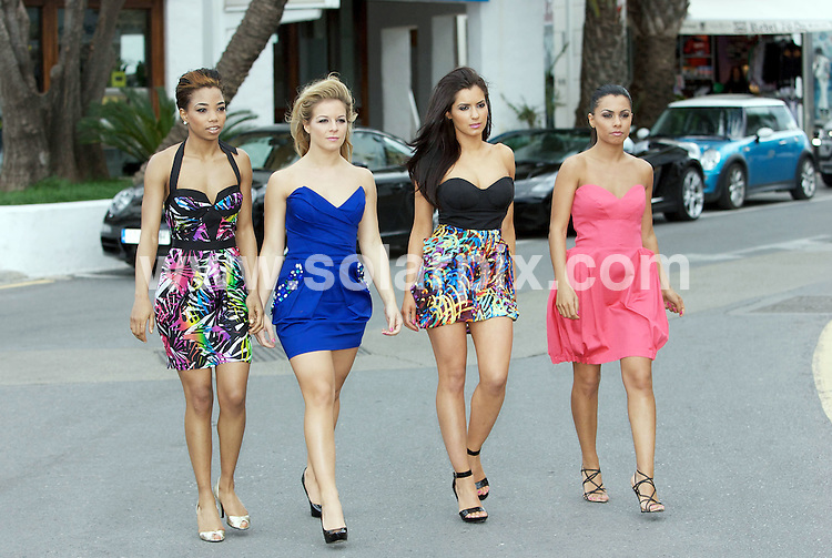 "**ALL ROUND PICTURES FROM SOLARPIX.COM**.**WORLDWIDE SYNDICATION RIGHTS**.The all-girl group Fe-nix, who are supportin N-Dubz on a nationwide tour and about to release their next single ""Lady Baby"", pictured in Marbella, Spain. 6 April 2009..This pic: Fe-nix are (L-R) Amilia Hansel aka Priceless, Jade Tibbs, Tanya Mariam and Ayshen Kemel..JOB REF: 8759 AB1       DATE: 06_04_2009.**MUST CREDIT SOLARPIX.COM OR DOUBLE FEE WILL BE CHARGED**.**ONLINE USAGE FEE  GBP 50.00 PER PICTURE - NOTIFICATION OF USAGE TO PHOTO @ SOLARPIX.COM**.**CALL SOLARPIX : +34 952 811 768 or LOW RATE FROM UK 0844 617 7637**"