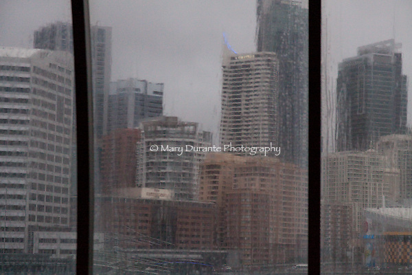 Sydney rainy day