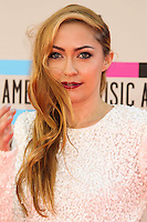 LOS ANGELES, CA - NOVEMBER 24: Brandi Cyrus arriving at the 2013 American Music Awards held at Nokia Theatre L.A. Live on November 24, 2013 in Los Angeles, California. (Photo by Celebrity Monitor)