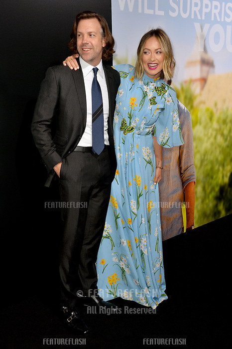 LOS ANGELES, CA. September 13, 2018: Olivia Wilde &amp; Jason Sudeikis at the premiere for &quot;Life Itself&quot; at the Cinerama Dome.<br /> Picture: Paul Smith/Featureflash
