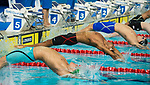 Wales Xavier Castelli in action during the semi-final of the 100m Backstroke<br /> <br /> *This image must be credited to Ian Cook Sportingwales and can only be used in conjunction with this event only*<br /> <br /> 21st Commonwealth Games - Swimming -  Day 1 - 05\04\2018 - Gold Coast Optus Aquatic centre - Gold Coast City - Australia