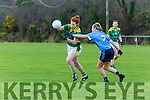 Kerry v, Dublin during the NFL in Castleisland on Sunday.