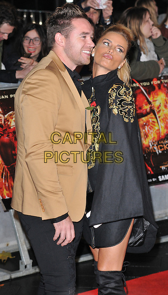 Kieran Hayler &amp; Katie Price ( Jordan ) attend the &quot;The Hunger Games: Mockingjay Part 2&quot; UK film premiere, Odeon Leicester Square, Leicester Square, London, England, UK, on Thursday 05 November 2015. <br /> CAP/CAN<br /> &copy;Can Nguyen/Capital Pictures