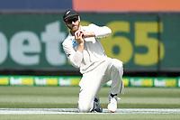 27th December 2019; Melbourne Cricket Ground, Melbourne, Victoria, Australia; International Test Cricket, Australia versus New Zealand, Test 2, Day 2; Kane Williamson of New Zealand catches the ball - Editorial Use