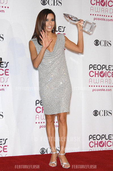 EVA LONGORIA at the 33rd Annual People's Choice Awards at the Shrine Auditorium, Los Angeles..January 9, 2007 Los Angeles, CA.Picture: Paul Smith / Featureflash