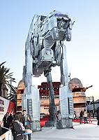 DEC 09 'Star Wars: The Last Jedi' - film premiere arrivals, LA